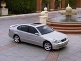 Lexus GS 430 2000–04 pictures