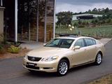 Lexus GS 300 AU-spec 2005–08 photos