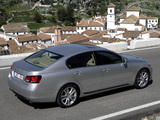 Lexus GS 450h EU-spec 2006–08 pictures