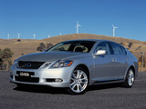 Lexus GS 450h AU-spec 2006–08 pictures