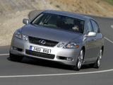 Lexus GS 450h EU-spec 2006–08 wallpapers