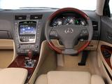 Lexus GS 450h ZA-spec 2008–12 images