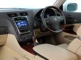 Lexus GS 450h ZA-spec 2008–12 pictures
