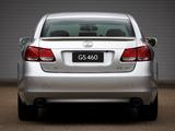 Lexus GS 460 AU-spec 2008–12 wallpapers