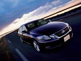Lexus GS 450h JP-spec 2009–11 pictures