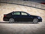 Lexus GS 450h F-Sport EU-spec 2012 images