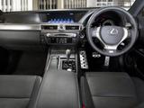 Lexus GS 450h F-Sport ZA-spec 2012 images