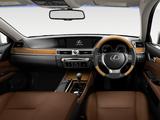 Lexus GS 450h JP-spec 2012 images
