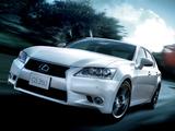Lexus GS 350 JP-spec 2012 images