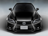 Lexus GS 350 F-Sport JP-spec 2012 photos