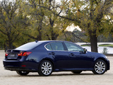 Lexus GS 450h AU-spec 2012 pictures