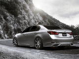 Lexus GS 350 F-Sport Supercharged 2012 pictures
