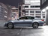 Lexus GS 450h F-Sport ZA-spec 2012 wallpapers