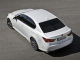 Lexus GS 450h F-Sport EU-spec 2012 wallpapers