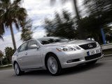 Photos of Lexus GS 450h EU-spec 2006–08