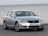 Photos of Lexus GS 450h EU-spec 2006–08