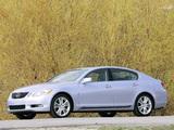 Pictures of Lexus GS 450h 2006–08