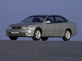Lexus GS 300 EU-spec 1997–2004 wallpapers
