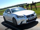 Lexus GS 450h F-Sport UK-spec 2012 wallpapers