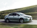 Lexus HS 250h JP-spec (ANF10) 2012 wallpapers