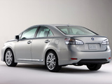 Pictures of Lexus HS 250h (ANF10) 2009–12