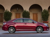 Lexus HS 250h (ANF10) 2009–12 wallpapers
