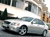 Images of Lexus IS 200 UK-spec (XE10) 1999–2005