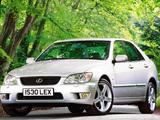 Images of Lexus IS 300 UK-spec (XE10) 2001–05