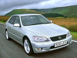 Images of Lexus IS 300 UK-spec (XE10) 2001–05