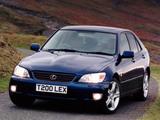 Lexus IS 200 UK-spec (XE10) 1999–2005 wallpapers