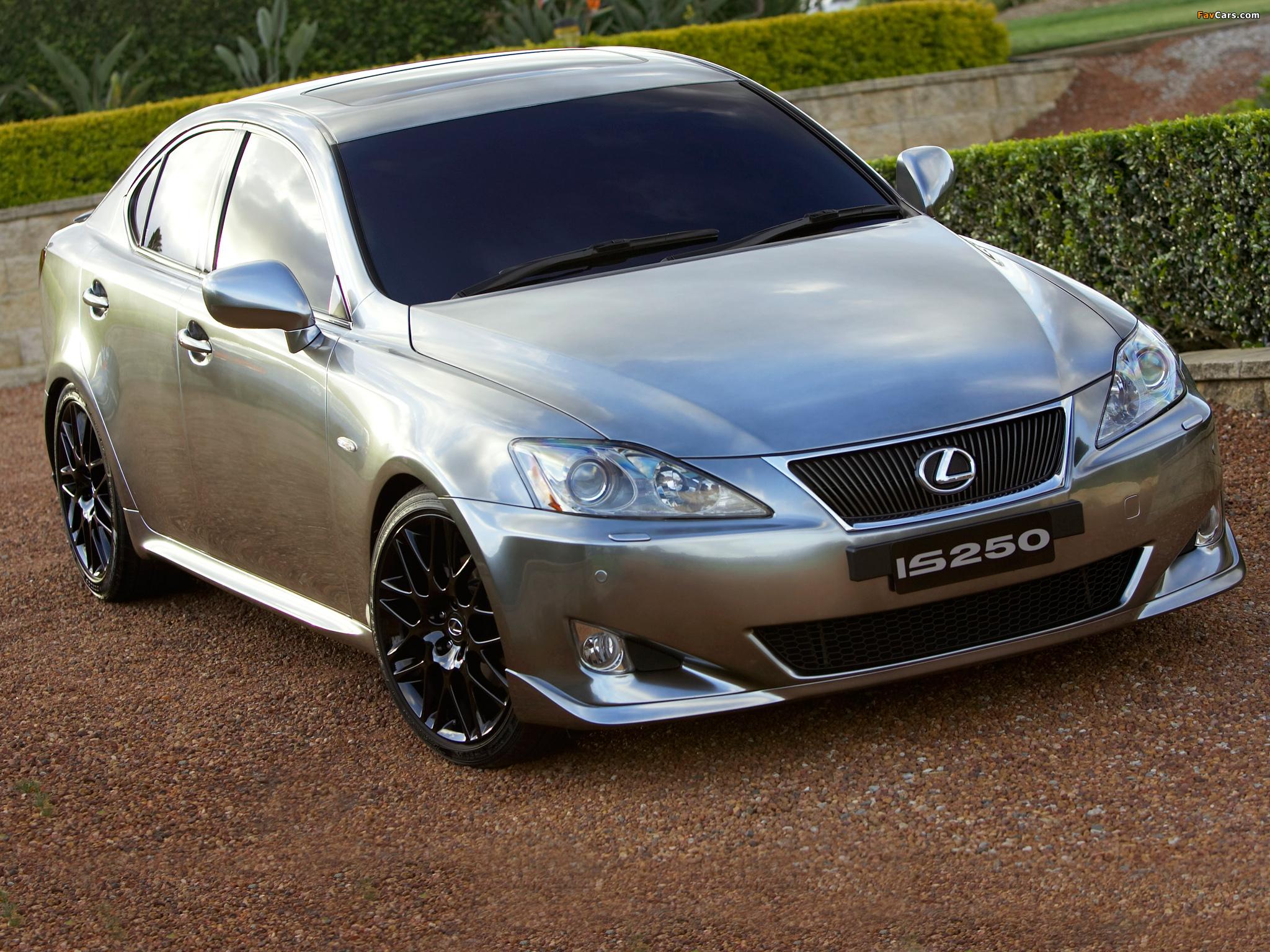 Lexus IS 250 Chrome Accessories AU-spec (XE20) 2006–10 pictures ...