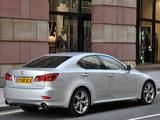 Lexus IS 250 UK-spec (XE20) 2008–10 images