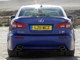 Lexus IS F UK-spec (XE20) 2008–10 images