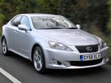 Lexus IS 250 UK-spec (XE20) 2008–10 photos