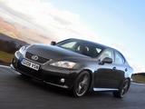 Lexus IS F UK-spec (XE20) 2008–10 photos