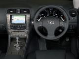 Lexus IS 250C ZA-spec (XE20) 2009–11 pictures