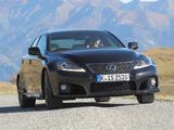 Lexus IS F EU-spec (XE20) 2010–13 pictures