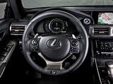 Lexus IS 300h F-Sport EU-spec (XE30) 2013 images