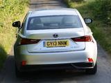 Lexus IS 300h UK-spec (XE30) 2013 photos