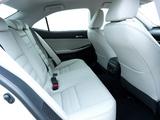 Lexus IS 300h UK-spec (XE30) 2013 pictures