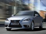 Lexus IS 300h UK-spec (XE30) 2013 wallpapers