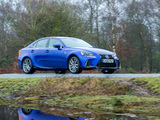 Lexus IS 300h F SPORT UK-spec 2016 images