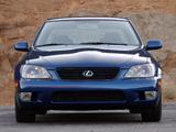 Photos of Lexus IS 300 (XE10) 2001–05