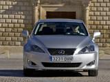 Photos of Lexus IS 220d (XE20) 2005–08