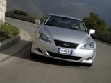 Photos of Lexus IS 250 EU-spec (XE20) 2005–08