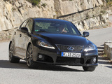 Photos of Lexus IS F EU-spec (XE20) 2010–13