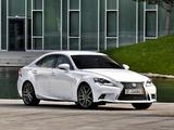 Photos of Lexus IS 300h F-Sport EU-spec (XE30) 2013