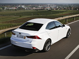 Photos of Lexus IS 300h F-Sport EU-spec (XE30) 2013