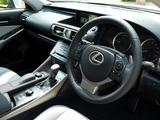 Photos of Lexus IS 300h UK-spec (XE30) 2013