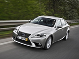 Photos of Lexus IS 300h EU-spec (XE30) 2013
